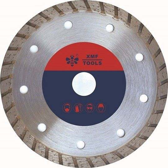 Wide  105mm 120mm  Diamond Cutting Disc For Porcelain  Granite Powerful Fast