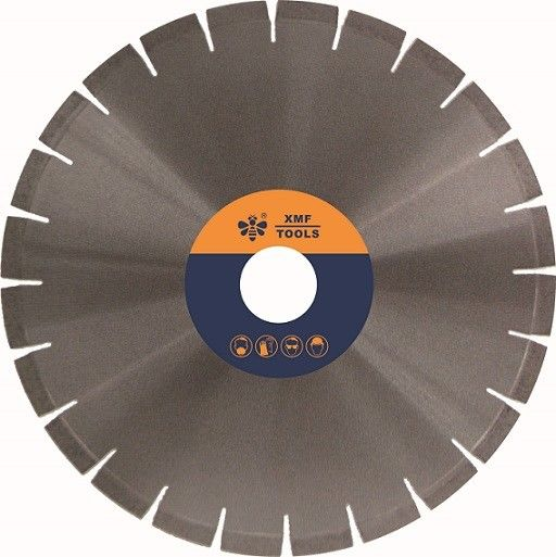 Silver Brazed  Granite Stone Cutting Saw Blades , Band Saw For Stone Cutting