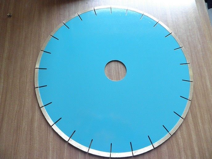350mm Marble  Stone Cutting Saw Blades , Blue 12 Inch Concrete Cutting Table Saw