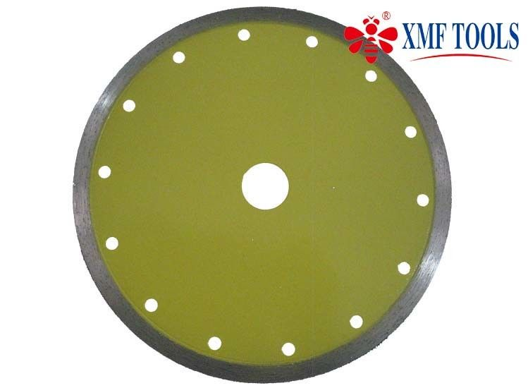"4  "" 4.5 "" 7 "" Continuous Rim Saw Blade  , 230mm Diamond Stone Cutting Disc"