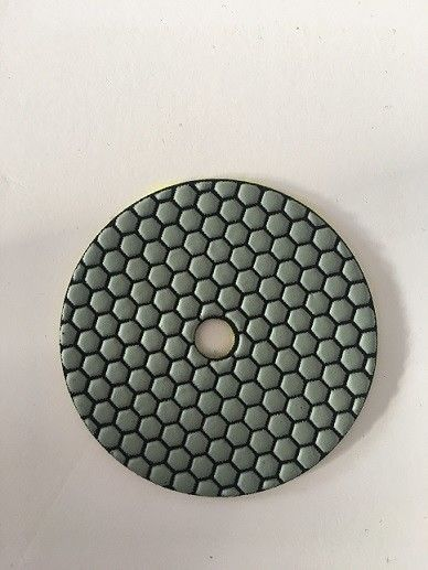 125mm Dry Diamond Hand Polishing Pads For Marble ISO9001 Listed