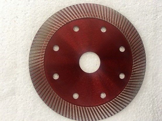 Dark Red Diamond Masonry Blade For Circular Saw Marble Super Thin Type