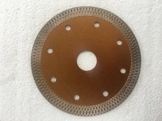 Gold Rock Cutting Thin Diamond Cutting Blade Concrete  115mm 230mm  Hot Pressed Meshy